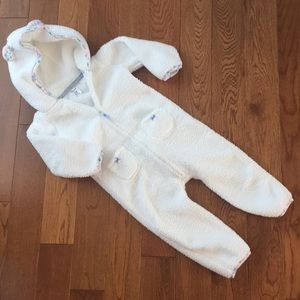 Carter's hooded jumpsuit